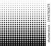 halftone dot. seamless pattern. ... | Shutterstock .eps vector #1943782675