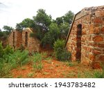 Stone Wall Structures Of An...