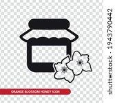 vector image. orange blossom... | Shutterstock .eps vector #1943790442