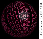 futuristic modern slogan print...   Shutterstock .eps vector #1943846488