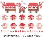 an illustration set of a...   Shutterstock .eps vector #1943857402