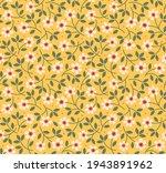 vintage floral background.... | Shutterstock .eps vector #1943891962