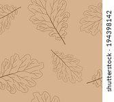 perfect foliage seamless... | Shutterstock .eps vector #194398142