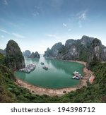 halong bay vietnam. ha long bay ... | Shutterstock . vector #194398712