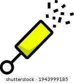party petard icon. editable...