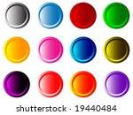 modern buttons | Shutterstock .eps vector #19440484