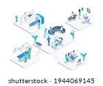 isometric vector illustration... | Shutterstock .eps vector #1944069145