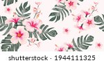 seamless pattern floral with...   Shutterstock .eps vector #1944111325