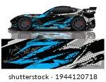 car wrap graphic racing... | Shutterstock .eps vector #1944120718