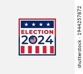 2024 united states of america...   Shutterstock .eps vector #1944257872