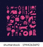 set of hand drawn design signs...   Shutterstock .eps vector #1944263692