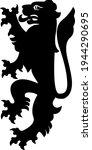 heraldic lion illustration....   Shutterstock .eps vector #1944290695