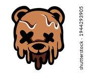 bear stretwear and edgy logos ... | Shutterstock .eps vector #1944293905
