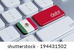 mexico  high resolution debt... | Shutterstock . vector #194431502