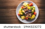 Salad Nicoise. Tuna  With Green ...
