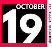 October 19 . Modern Daily...