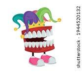 Joke Box With Chattering Teeth