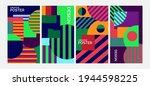 creative geometry background...   Shutterstock .eps vector #1944598225