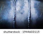 Two Vertical Welding Seams On A ...