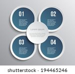 set of paper banners   tags for ... | Shutterstock .eps vector #194465246