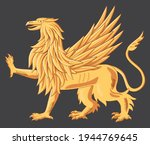 illustration of a golden...   Shutterstock .eps vector #1944769645