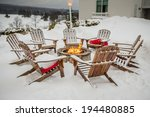 warmth in snow | Shutterstock . vector #194480885