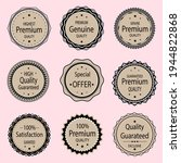 leather badges seal quality... | Shutterstock .eps vector #1944822868