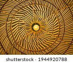 Yellow Lamp Indonesia Circle...