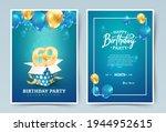 69th years birthday vector...   Shutterstock .eps vector #1944952615
