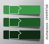 modern  design template from... | Shutterstock . vector #194495768