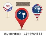 south carolina us state round... | Shutterstock .eps vector #1944964555