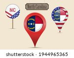 north carolina us state round... | Shutterstock .eps vector #1944965365
