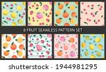 seamless pattern set with...   Shutterstock .eps vector #1944981295