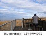 Birder Observing From A...