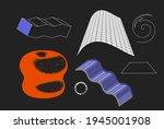 universal vector geometric... | Shutterstock .eps vector #1945001908