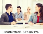 education  school and people... | Shutterstock . vector #194509196