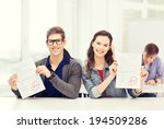 education  school and people... | Shutterstock . vector #194509286