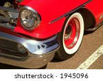 classic 50s oldsmobile | Shutterstock . vector #1945096