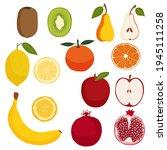 Fruit Set. Healthy Natural Food ...