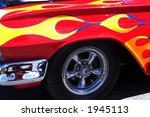 flames on impala | Shutterstock . vector #1945113