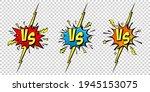 comic challenge background.... | Shutterstock .eps vector #1945153075