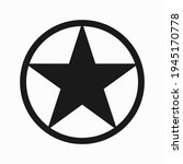star vector icon isolated on...   Shutterstock .eps vector #1945170778
