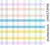 rainbow tartan glen plaid...   Shutterstock .eps vector #1945173958