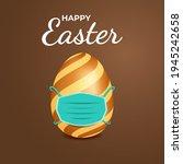 easter banner design template.... | Shutterstock .eps vector #1945242658