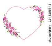 Heart Shaped Frame With Spring...