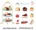 illustration of an afternoon... | Shutterstock .eps vector #1945344112