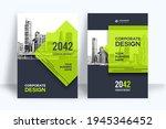 corporate book cover design... | Shutterstock .eps vector #1945346452