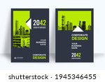 corporate book cover design... | Shutterstock .eps vector #1945346455