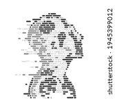 concept of artificial...   Shutterstock .eps vector #1945399012