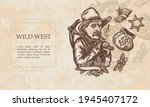 Wild West. Gold Digger. Old...